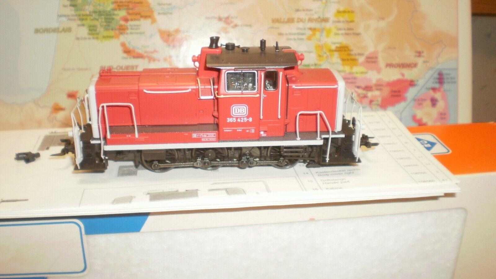 Loco diesel 365 425-6 DB Roco