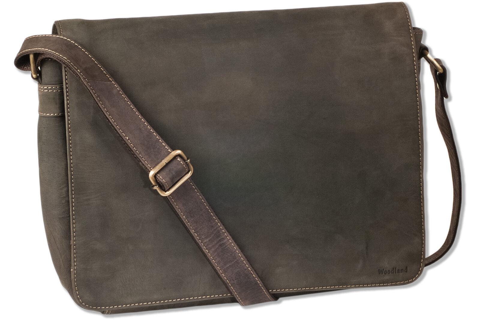 Woodland® Luxus Umhängetasche   Laptoptasche aus feinem Büffelleder in Braun | Neuer Eintrag  | Elegant Und Würdevoll  | Die Qualität Und Die Verbraucher Zunächst