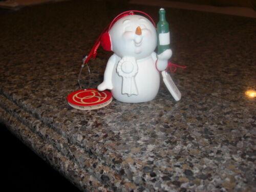 Dept 56 Snowpinions 4057427 Wine Maker Ornament NEW
