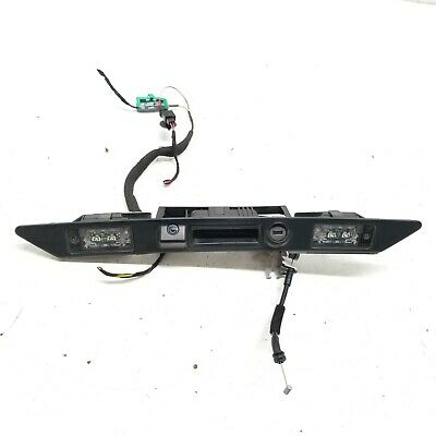 Genuine Audi A3 Tailgate//Boot Handle 8E0827574F