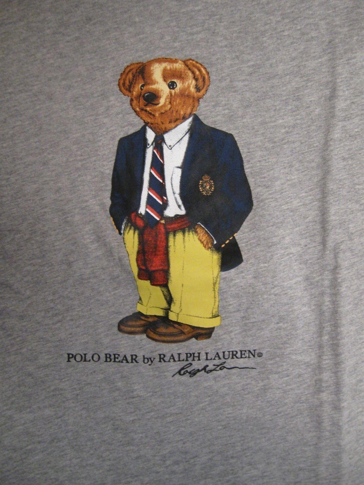Polo Ralph Lauren LIMITED EDITION Polo Bear Tshirt NWT Preppy Bear