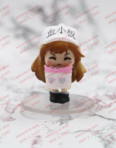 Anime Cells at Work mini cute charm PVC figure platelet 6 types with box