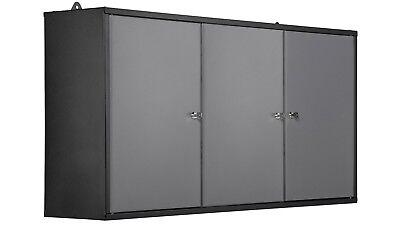Werkzeugschrank 2 Türen Hängeschrank 170 cm Breite Werkstattschrank abschließbar