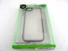 Belkin Grip Candy Sheer Case for Apple iPhone 5 and 5s Clear F8W168TTC05-TL