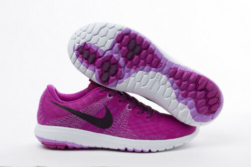 NIKE Flex Fury Running Shoes GS NIB Youth Size 4Y //EUR 36 $80 Purple Black Pink