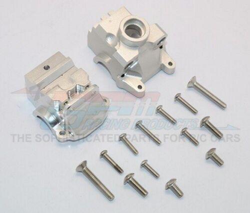 Gpm Aluminium Front Gear Box Silver Traxxas XO-1 Slash 4X4 Stampede 4X4
