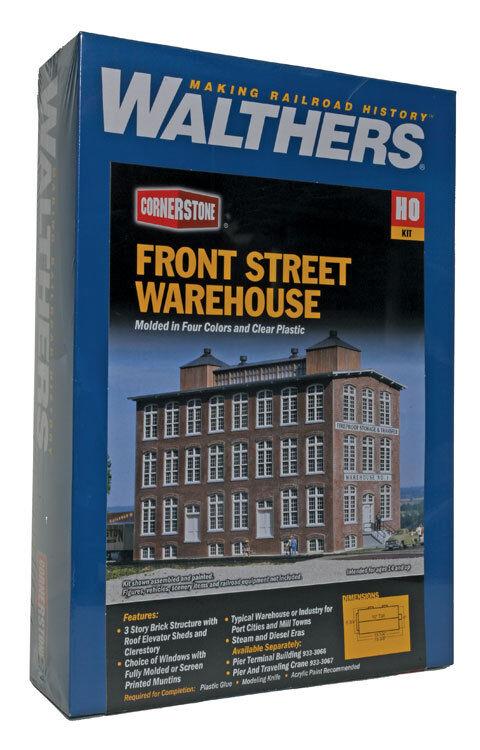 la vostra soddisfazione è il nostro obiettivo Walthers Cornerstone Ho Ho Ho Anteriore Strada Warehouse Kit di Costruzione 933-3069  economico e di alta qualità