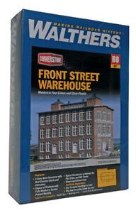 Walthers Angle Ho Devant Rue Warehouse Kit De Construction 933-3069