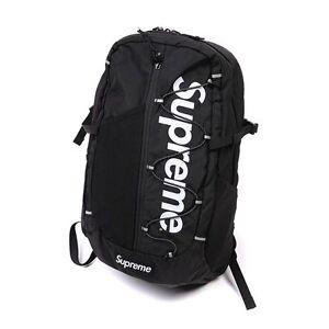 Black-Unisex-Big-Supreme-Travel-Backpack-School-Shoulder-Bags-Waterproof-Laptop