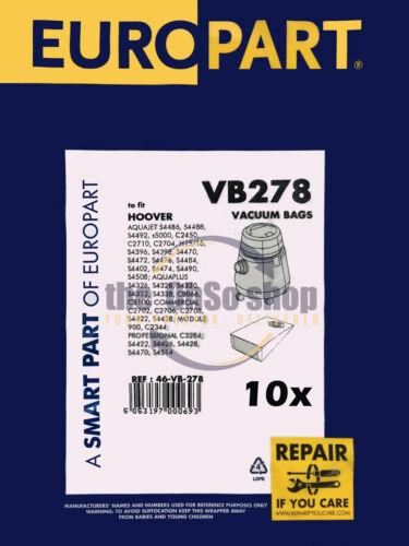 10x KARCHER K2501 Dust Bags Vacuum Cleaner