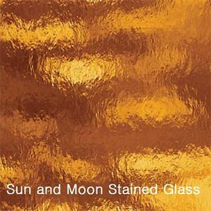 Buy Stained Glass Sheets.Details About 8 X10 Spectrum Stained Glass Sheets S111rr Dark Amber Rough Rolled