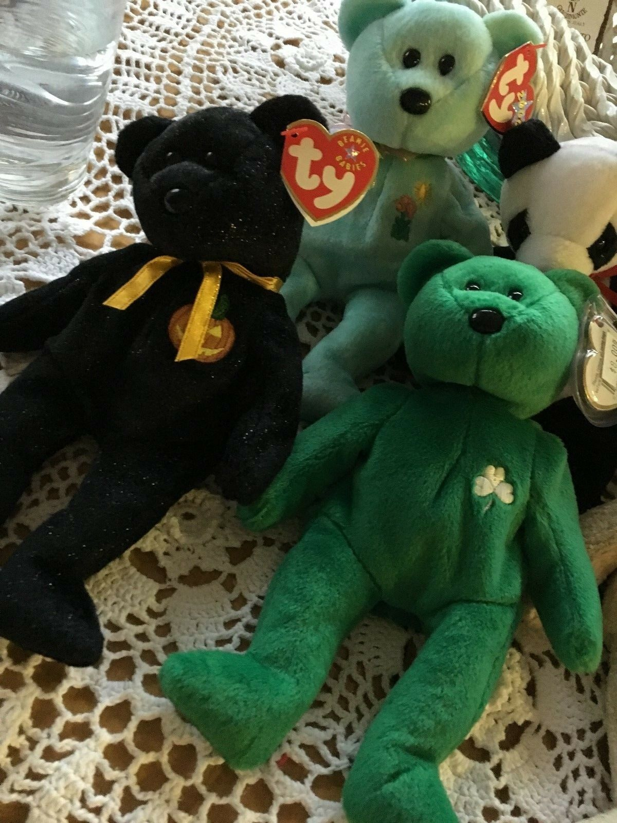 Lot of 6 Ty Beanie Babys Mixed lot - - - all Originals  - 4cd9f9