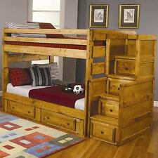 Coaster 460096 460097 460098 Full Storage Bunk Bed With Stairway Chest