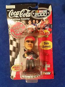 Dale-Jarrett-NASCAR-2000-Coca-Cola-Coke-Bobblehead-Mini-Bobber-Collectible-New