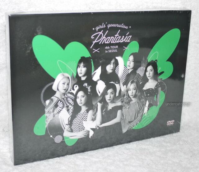 Korea Girls Generation 4th Tour Phantasia In Seoul Taiwan 2 Dvd W Box Folder For Sale Online Ebay
