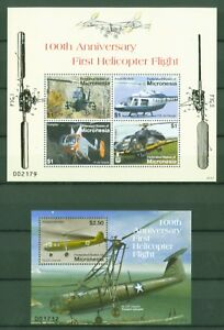 Mikronesien-Micronesia-2007-Hubschrauber-Helicopter-1844-47-Block-172