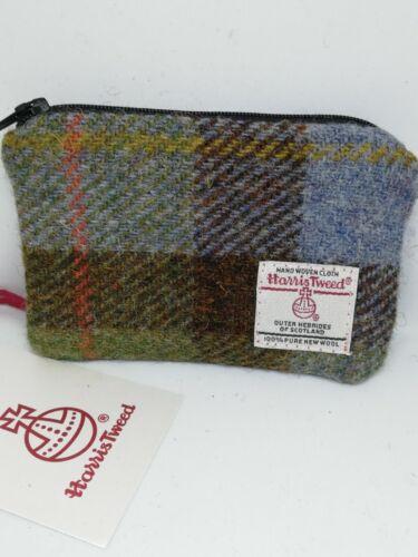 various colours FREE POSTAGE Harris Tweed purse