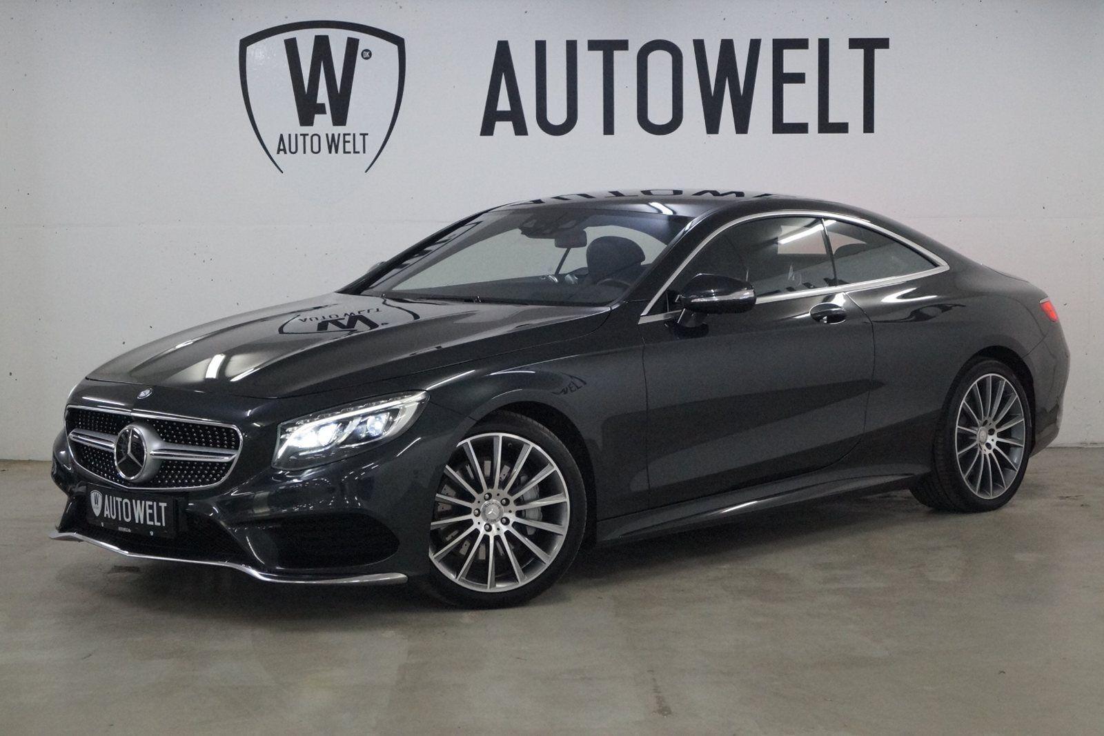 Mercedes S500 4,7 Coupé aut. 4-M 2d - 999.700 kr.