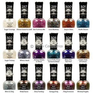 """3 KLEANCOLOR 3D Nail Lacquer (polish) """" Pick Your 3 Color """" Joy's cosmetics"""