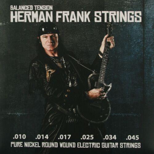 Pyramid Herman Frank Strings .010-.045 E-Gitarre Saiten SATZ E-Guitar Strings
