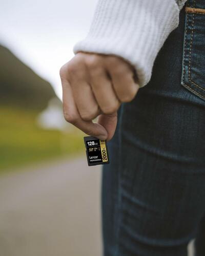 2000x 300MB//s V90 U3 C10 II Lexar ™ ® Professional 64GB SDXC UHS lector de tarjeta SD