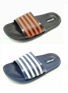 Sandal Shoes Children/'s Boys Blue Kids Flip Flops Sport Slider Mules 12-5