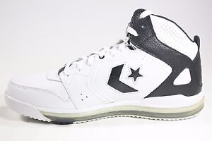 Image is loading NEW-RARE-Converse-Sicks-Mid-White-Black-117012