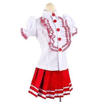 [wamami]299# Red Dress/Suit/Outfit 2pcs SD DOD 1/3 BJD Dollfie