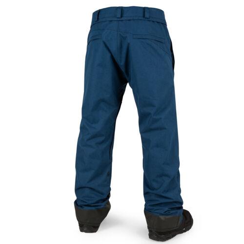 VOLCOM Mens 2017 Snowboard Snow Blue Black PAT MOORE PANT