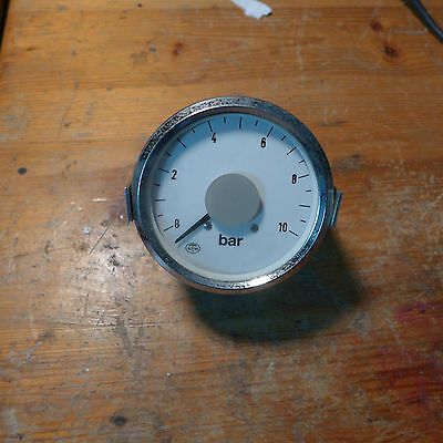 Sonstige Branchen & Produkte Ntw Noris Analogue Pressure Indicator Used Calibrated Ok 0-10bar 4-20ma Eleganter Auftritt