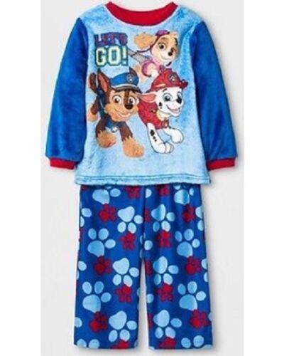 Paw Patrol Toddler Fleece Pajama Set 2T NWT
