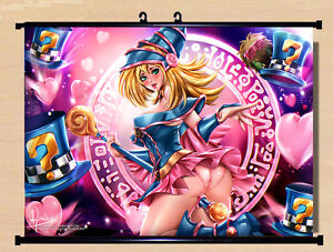 Sexy dark magician girl seems magnificent