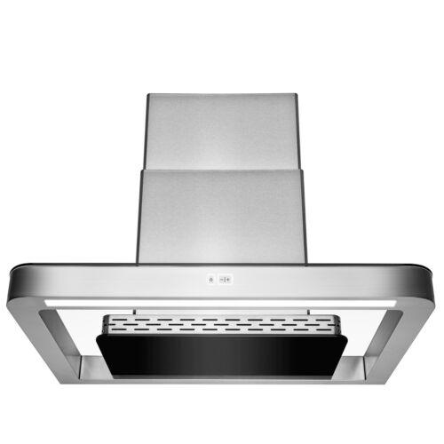 "30/"" Wall Mount Stainless Steel Push Panel Kitchen Range Hood Cooking Fan"