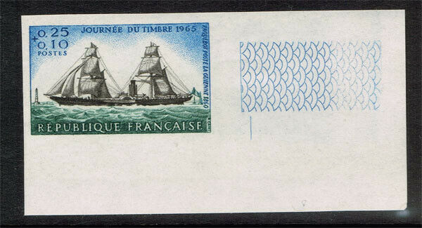 FRANCE SCOTT#B391 MINT NEVER HINGED IMPERFORATE STAMP