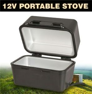 12V Portable Stove Oven Food Warmer for 4WD Car Truck Caravan Camping 12 Volt