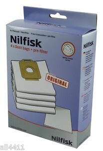 get cheap latest fashion store Détails sur 4 SAC ASPIRATEUR NILFISK 1470416500 POWER P10 P20 P30 P40 PW10  PW20 107407639