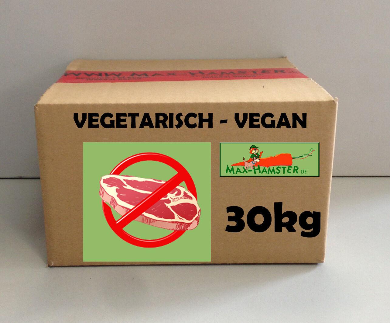 Nutrizionista cibo per cani VEGAN Di MaxHamster 28kg Premium qualitàvegetariano