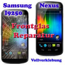 Samsung Nexus i9250 i9020 Front Glas reparación display reparación UV vollverklebu