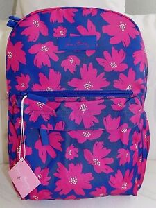 f5e0360e3f VERA BRADLEY Lighten Up Just Right Backpack - Art Poppies - NEW WITH ...