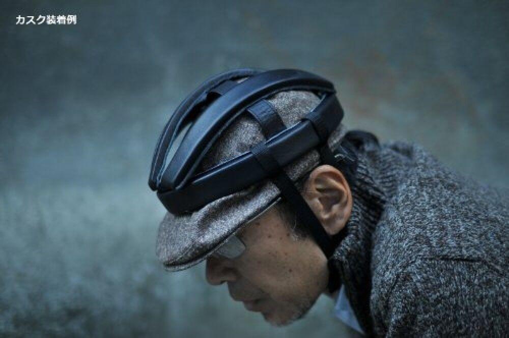 Neu Rin Project Project Project Casque Rindsleder SCHWARZ L   61 cm Helm Original aus Japan 6585f8