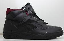 Reebok Shoes BB 4600 Mid Mens 11.5 4-21657 Black Vintage Deadstock Sneakers