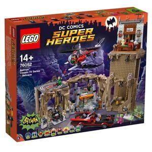 Lego 76052 Dc Comics Super Héros Batman Série Tv Classique Batcave Brandnew Rare
