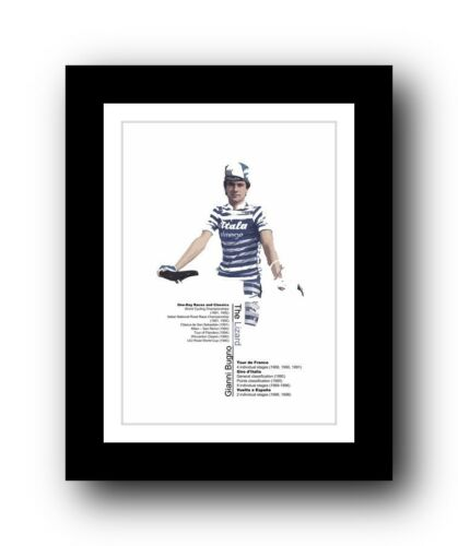 Gianni Bugno ❤ Cycling poster limited edition print vintage L/'Eroica 531