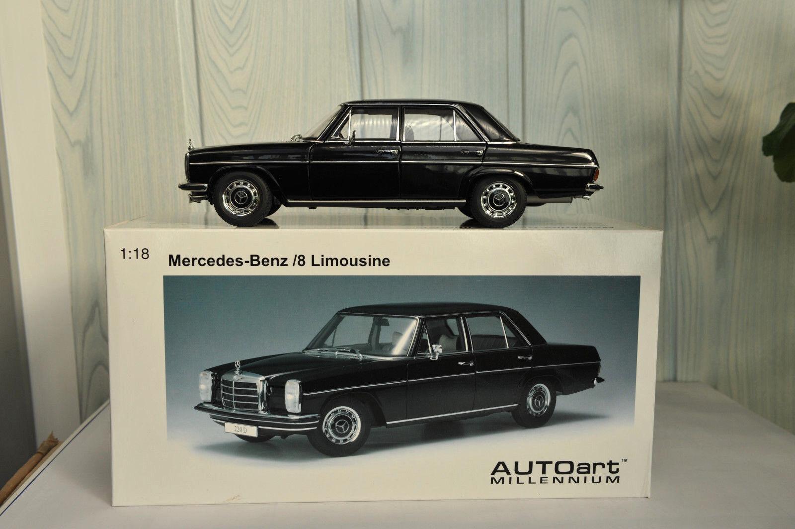 Mercedes-Benz-8-220D 76181-Limousine-Noire-Rare 76181-Limousine-Noire-Rare 76181-Limousine-Noire-Rare 1-18-Autoart Millénium rarissime f5d53f