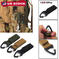 Hot Outdoor Camping Equipment Carabiner Military Buckle Hunting Equipment Lock