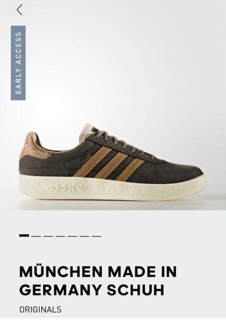 Adidas München Herren Schuhe Oktoberfest Look Braun (BY9805)