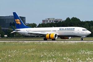 En vol 200 If738maxfi001 1/200 Icelandair Boeing 737-8 Tf-ice max.