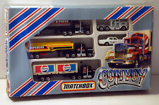 DTE 5PC MATCHBOX CONVOY G-4 GIFT SET W/PEPSI CONTAINER TRUCK FROM 1982 NIOP