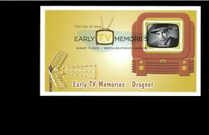2009-FDC-Early-TV-Memories-Dragnet-North-Hollywood-CA