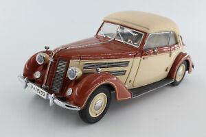 A-S-S-CMC-Audi-920-Cabriolet-1938-1940-1-24-OVP-Braun-Beige
